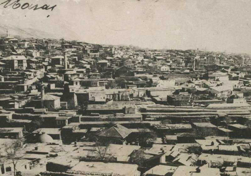 1920 - Tekkeden Tarihi Kent Merkezine Bakış