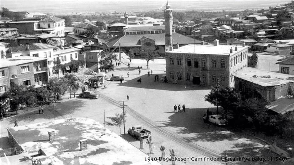 1940 - Eski Belediye ve Ulu Camii