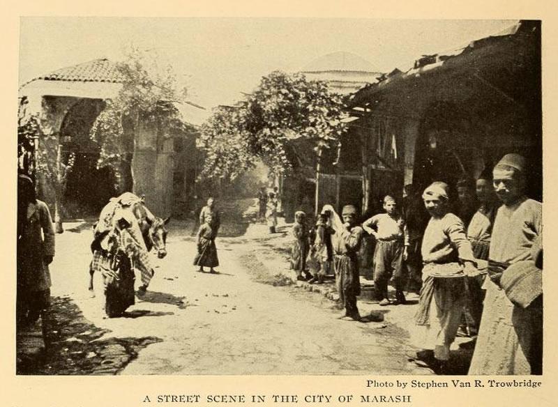1915 - Bakırcılar Sokak ve Dua Kubbesi