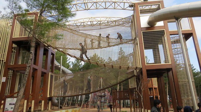 Arslanbey Parkı macera oyun grubu