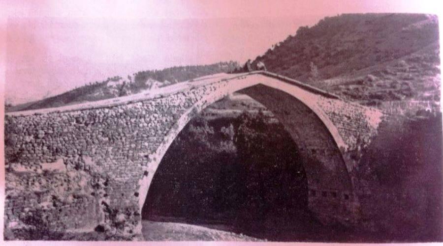 Kahramanmaraş Körsulu Köprüsü'nün eski bir fotoğrafı