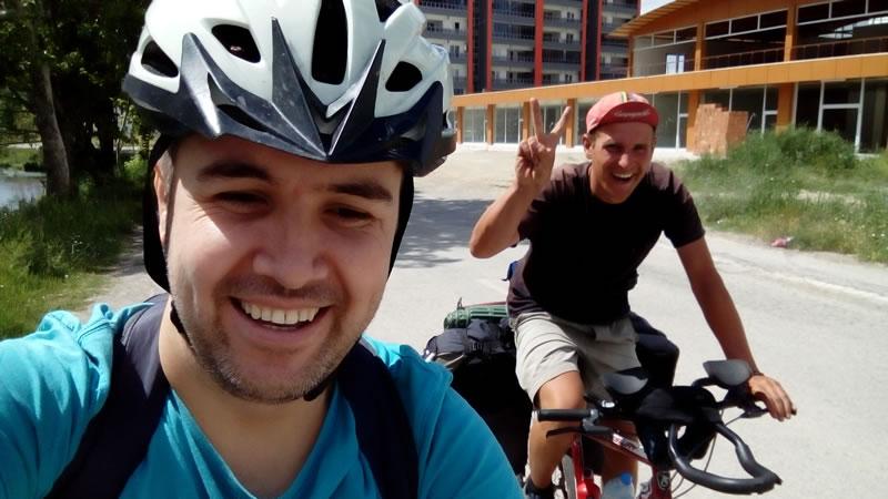Polonyalı Hukaş ile Elbistan'ı pedallamak