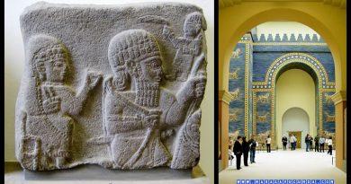 Berlin Müzesi'nde Maraş'tan götürülen stel parçası