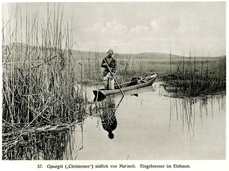Gavur Gölü bir zamanlar balıkçı kayıkçıları ile doluydu.