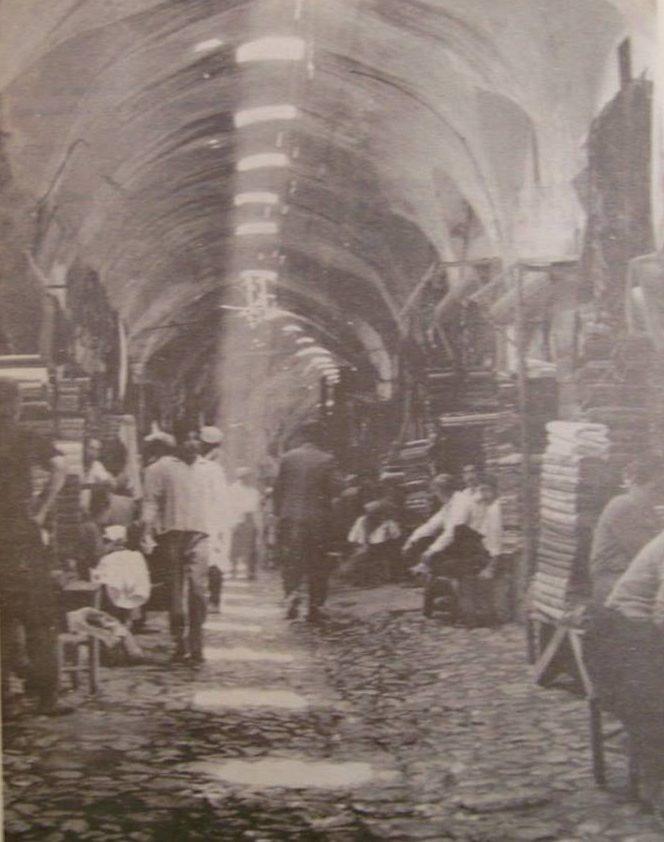 Maraş Kapalı Çarşı - 1967 yıllığından