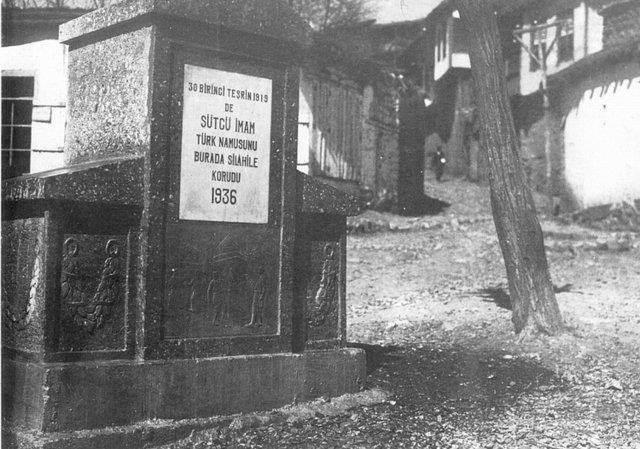 Sütçü İmam Çeşmesi - 1936