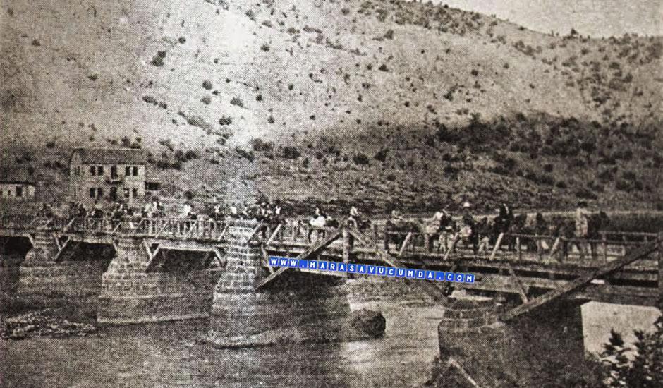 19. yy başlarında Maraş'ta bir köprü
