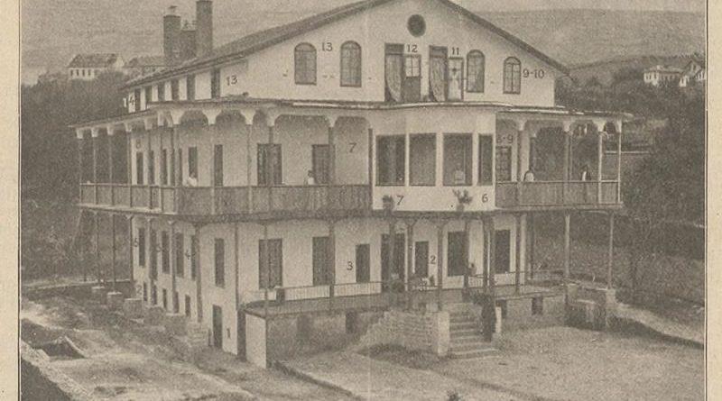 Maraş Alman Hastanesi Salem'in 1904 Yılında Açılışı