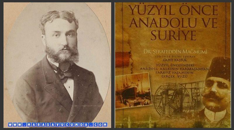 Şerafeddin Mağmumi'nin Notlarında 1895 Yılının Maraş Mutfak Kültürü
