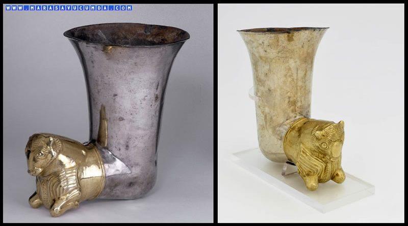 İngiliz Müzesi'nde Bir Maraş Eseri: Altın ve Gümüş Riton