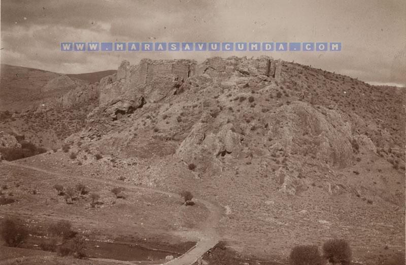 Hugo Grothe'nin 1906'da çektiği Hurman Kalesi fotoğrafı