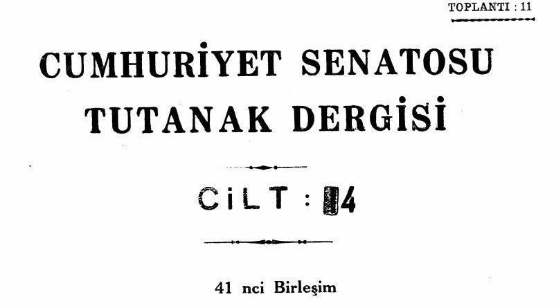 14 Mart 1972 tarihinde Cumhuriyet Senatosunda Maraş Adının Kahraman Maraş olarak değiştirilmesini öngören kanun teklifinin reddedilmesi