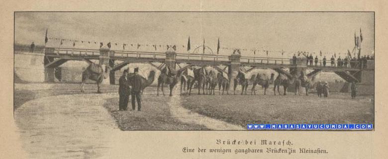 Sonnen Aufgang 1904 Maraş Erkenez Köprüsü