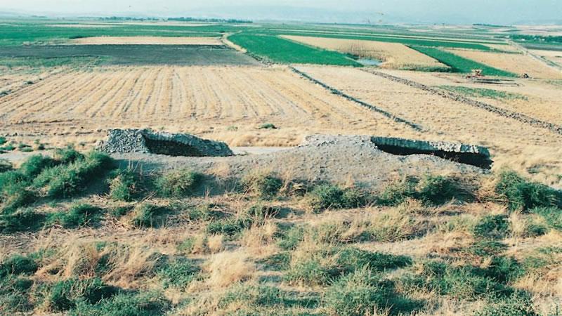 Pazarcık İlçesi Hanobası Mahallesinde yer alan Anadolu Selçuklu Eseri Kubatlı Hanı