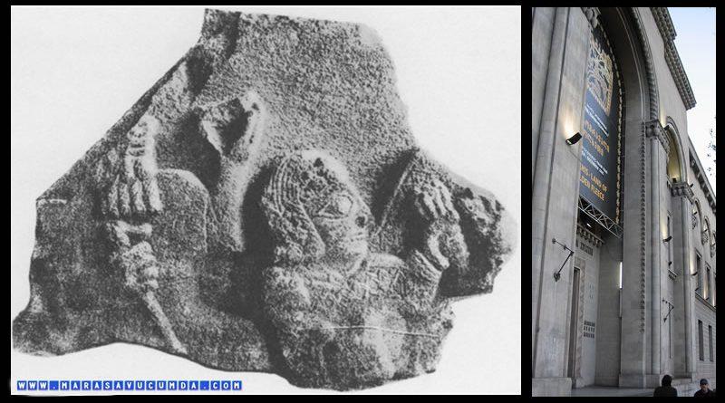 Simon Canaşia Müzesi koleksiyonunda bulunan Maraş menşeli Hitit Mezar Steli