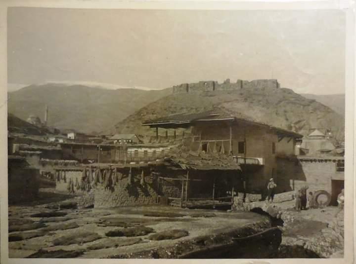 1930 yılında Maraş tabakhane manzarası