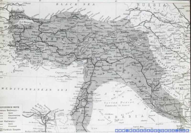 Lamberto Vannutelli 1906 Maraş Keşif Gezisi