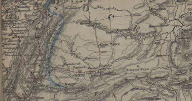 Pyotr Çihaçov Seyahatnamesinde Göksun, Afşin, Elbistan – 1853